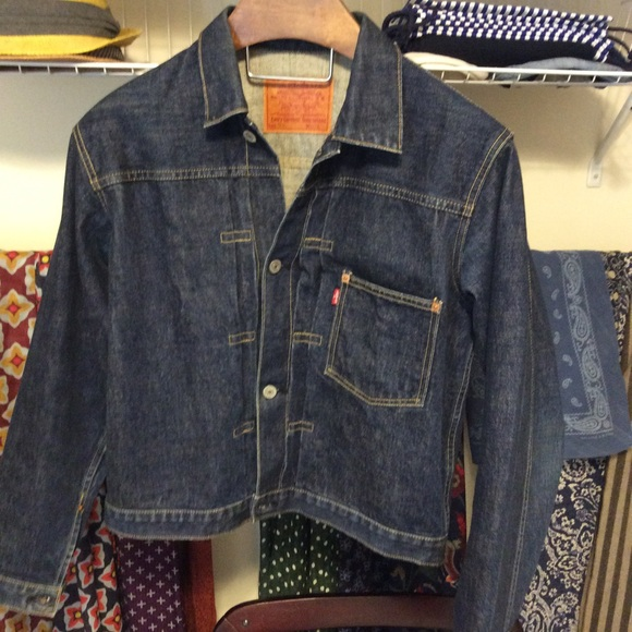 Vintage Levis Type 1 Denim Jacket